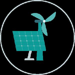 icono energía renovable
