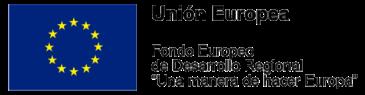 Unión Europea Fondo Europeo de Desarrollo Regional logo